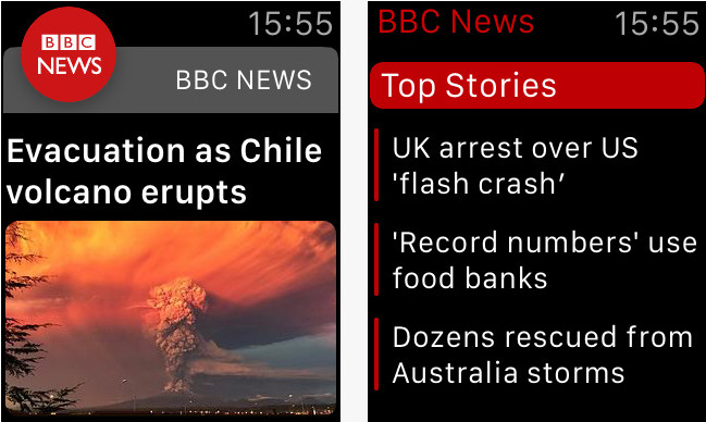 bbc news on the app