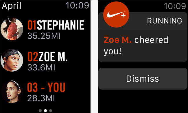 nike apple watch apps