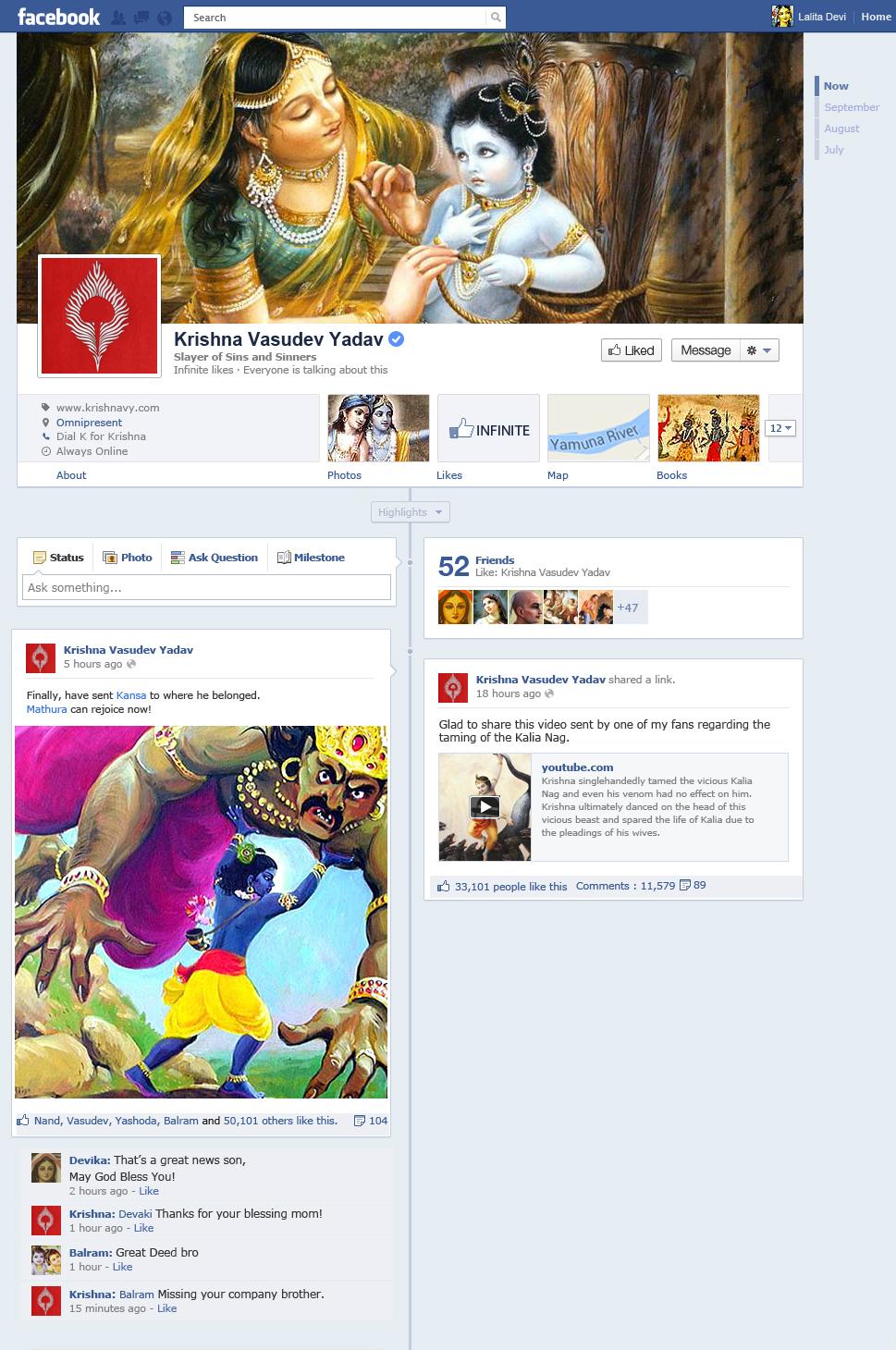 facebook- krishna