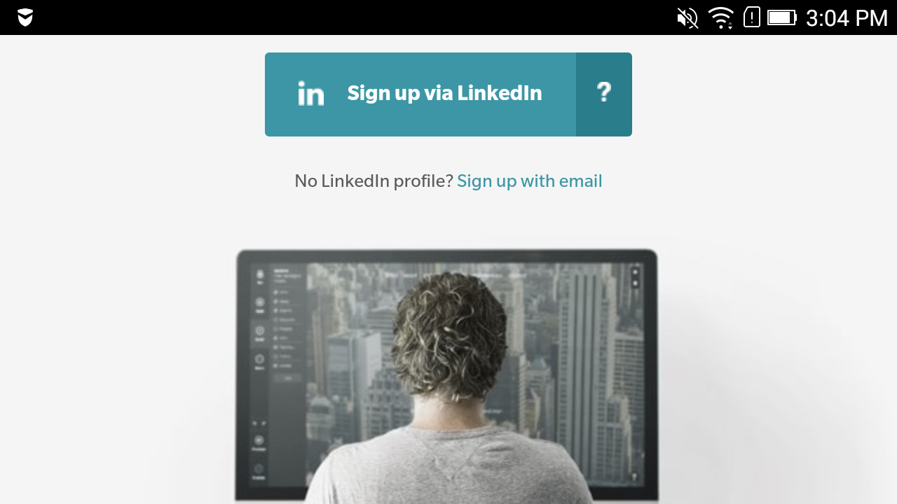 linkedin for social contacts integration