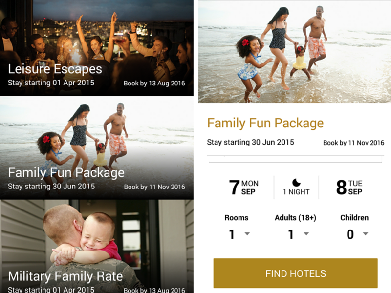 special offers for all customers marriott mobile app