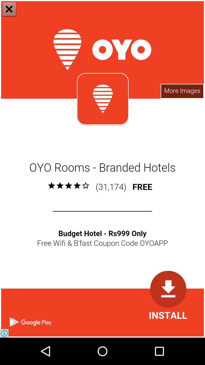 oyo rooms app banner
