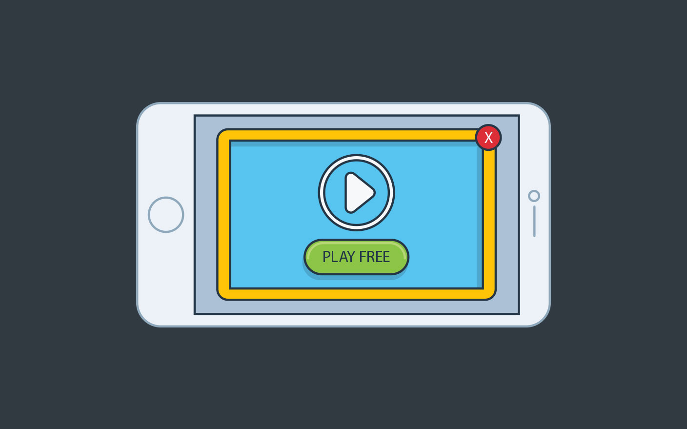 video ads on mobile app